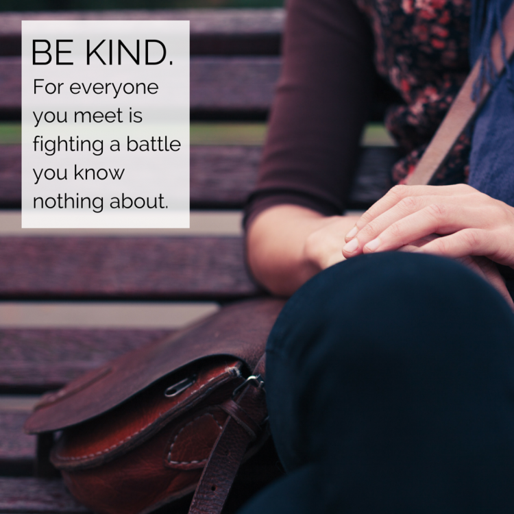 Scott Clodfelter - Quote - Be Kind - Inst